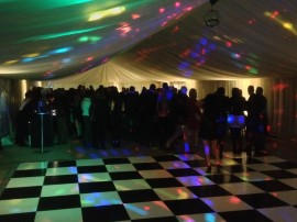 Black horse marquees packages for 30th birthday decoration packages